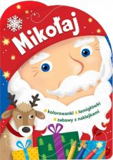 Mikołaj Świąteczne activity z wykrojnikiem -  | mała okładka
