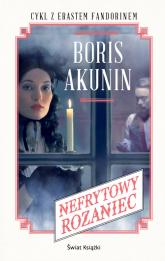 Nefrytowy różaniec - Boris Akunin | mała okładka