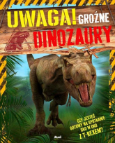 Uwaga! Groźne dinozaury - Clare Hibbert | mała okładka