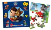 Psi Patrol Książka z puzzlami -  | mała okładka