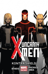Uncanny X-Men Tom 4 Kontra Shield - Bendis Brian Michael, Bachalo Chris, Anka Kri | mała okładka