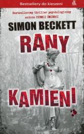 Rany kamieni - Simon Beckett | mała okładka