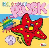Kolorowy plusk Plaża - Mirosława Kwiecińska | mała okładka
