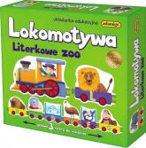 Lokomotywa Literkowe Zoo Układanka edukacyjna -  | mała okładka