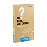 Fiszki Jak pisać żeby czytali - Artur Jabłoński | mała okładka