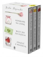 Konkurs na żonę / Bilet do szczęścia / Zdążyć z miłością Pakiet - Beata Majewska | mała okładka