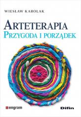 Arteterapia Przygoda i porządek - Wiesław Karolak | mała okładka