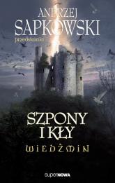 Wiedźmin Szpony i kły - zbiorowa Praca | mała okładka
