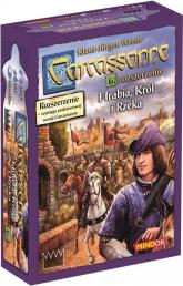 Carcassonne Hrabia Król i Rzeka 6 rozszerzenie do drugiej edycji najpopularniejszej gry kafelkowej - Klaus-Jurgen Wrede   mała okładka
