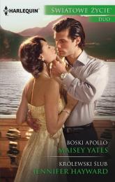 Boski Apollo Królewski ślub - Yates Maisey, Hayward Jennifer   mała okładka