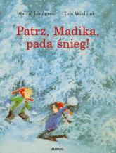 Patrz, Madika, pada śnieg! - Astrid Lindgren | mała okładka