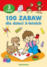 100 zabaw dla dzieci 3-letnich - Mariola Langowska | mała okładka