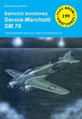 Samolot bombowy Savoia-Marchetti SM.79 - Wiesław Bączkowski   mała okładka