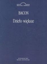 Dzieło większe - Roger Bacon   mała okładka