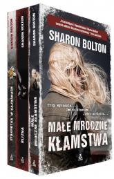 Małe mroczne kłamstwa / Stokrotka w kajdanach / Blizna - Sharon Bolton | mała okładka