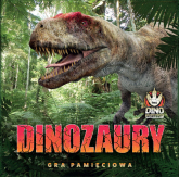 Dinozaury Gra pamięciowa Gra pamięciowa - Kasia Jacobson   mała okładka