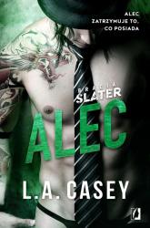 Bracia Slater Alec - L.A. Casey | mała okładka