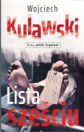 Lista sześciu - Wojciech Kulawski | mała okładka