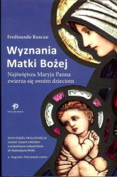Wyznania Matki Bożej - Ferdinando Rancan | mała okładka