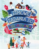 Zimowe zadania do kolorowania - Anna Wiśniewska   mała okładka