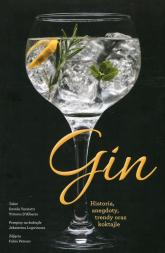 Gin Historia, anegdoty, trendy oraz koktajle - Davide Terziotti | mała okładka
