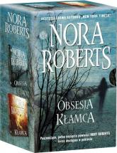 Kłamca / Obsesja Pakiet - Nora Roberts | mała okładka