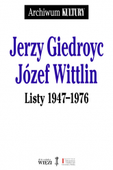Listy 1947-1976 - Giedroyc Jerzy, Wittlin Józef | mała okładka