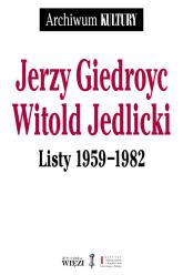 Listy 1959-1982 - Giedroyc Jerzy, Jedlicki Witold | mała okładka