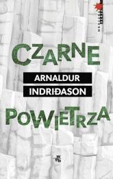 Czarne powietrza - Arnaldur Indridason | mała okładka