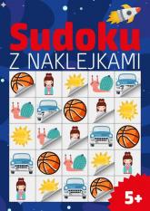 Sudoku z naklejkami 5+ -  | mała okładka