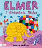 Elmer i dziadek Eldo - David McKee | mała okładka