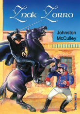 Znak Zorro - Johnston McCulley   mała okładka