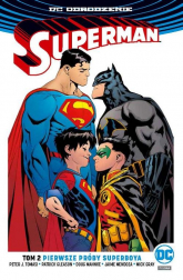 Superman Tom 2 Pierwsze próby Superboya - Tomasi Peter J., Gleason Patrick, Gleason Pat | mała okładka