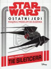 Star Wars Ostatni Jedi Książka z modelem do złożenia Zbuduj własnego Tie Silencera -  | mała okładka