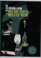Extrano caso del Doctor Jekyll y Mister Hyde komiks - Stevenson Robert Louis | mała okładka
