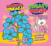 Kolorowa edukacja: Kwiaty Polski - Kryciński Michał, Jędrzejewska-Szmek Krystyna | mała okładka