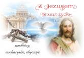 Z Jezusem przez życie Modlitwy, eucharystie, obyczaje - Beata Kosińska   mała okładka