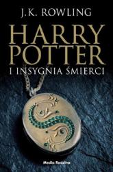Harry Potter i Insygnia Śmierci czarna edycja - Rowling Joanne K. | mała okładka