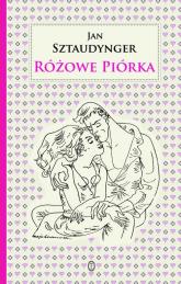 Różowe piórka - Jan Sztaudynger | mała okładka