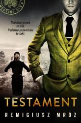 Joanna Chyłka. Tom 7. Testament  - Remigiusz Mróz | mała okładka