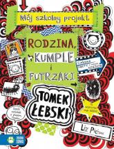 Tomek Łebski Tom 12  Rodzina, kumple i futrzaki - Liz Pichon | mała okładka