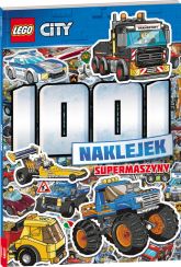 LEGO CITY 1001 naklejek Supermaszyny -    mała okładka