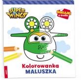 Super Wings Kolorowanka maluszka -  | mała okładka