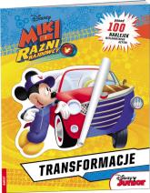 Miki i  Raźni Rajdowcy Transformacje -  | mała okładka