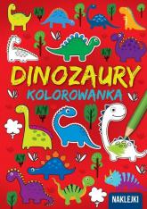 Kolorowanka A4  Dinozaury -  | mała okładka