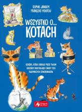Wszystko o kotach - Francois Moutou   mała okładka