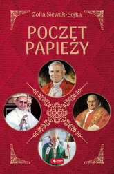 Poczet papieży - Zofia Siewak-Sojka | mała okładka