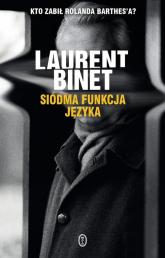 Siódma funkcja języka - Laurent Binet | mała okładka