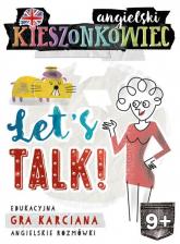 Kieszonkowiec angielski Let's Talk (9+) - Dorota Kondrat | mała okładka