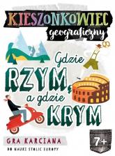 Kieszonkowiec geograficzny Gdzie Rzym, a gdzie Krym (7+) -  | mała okładka